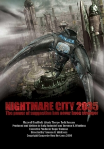 Nightmare City 2035 film afişi