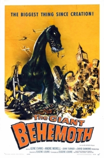 Behemoth The Sea Monster film afişi