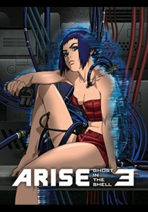 Ghost In The Shell Arise: Border 3 - Ghost Tears film afişi