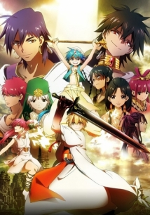 Magi: The Kingdom Of Magic film afişi