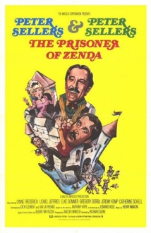 The Prisoner Of Zenda film afişi