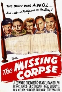 The Missing Corpse film afişi