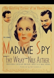 Madame Spy film afişi