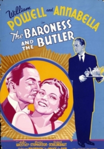 The Baroness And The Butler film afişi