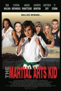 The Martial Arts Kid film afişi