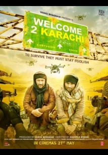 Welcome To Karachi film afişi