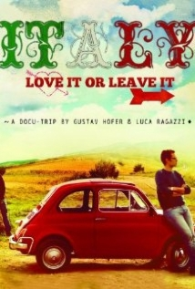 Italy: Love It, Or Leave It film afişi