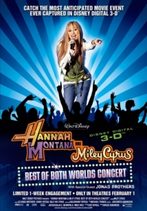 Hannah Montana & Miley Cyrus: Best Of Both Worlds Concert film afişi
