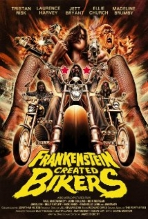 Frankenstein Created Bikers film afişi