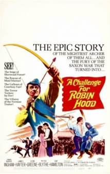 A Challenge For Robin Hood film afişi