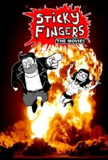 Sticky Fingers: The Movie! film afişi