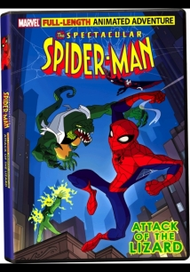 The Spectacular Spider-Man: Attack Of The Lizard film afişi