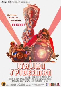 Italian Spiderman film afişi