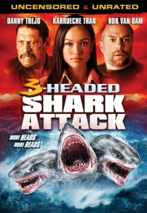 3-Headed Shark Attack film afişi