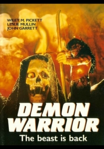 Demon Warrior film afişi