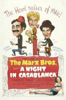 A Night In Casablanca film afişi