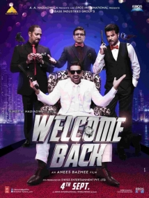 Welcome Back film afişi