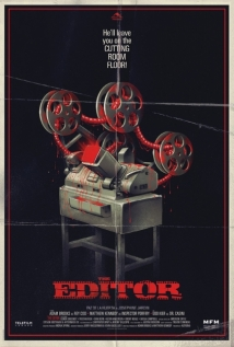 The Editor film afişi