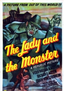 The Lady And The Monster film afişi