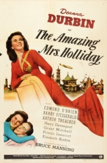 The Amazing Mrs. Holliday film afişi