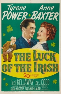 The Luck Of The Irish film afişi