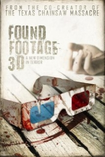 Found Footage 3D film afişi