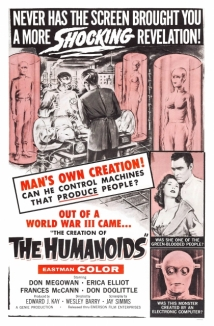 The Creation Of The Humanoids film afişi