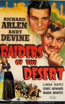 Raiders Of The Desert film afişi