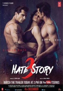 Hate Story 3 film afişi