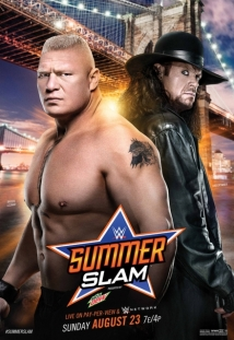 WWE Summerslam film afişi