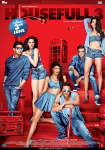 Housefull 3 film afişi