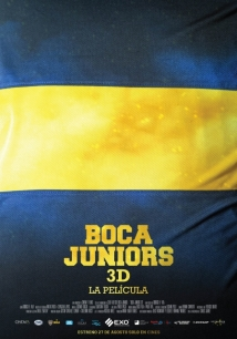 Boca Juniors 3D: The Movie film afişi