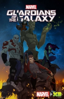 Marvel's Guardians of the Galaxy film afişi