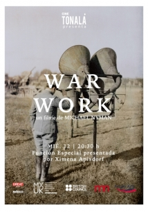 War Work, 8 Songs With Film film afişi