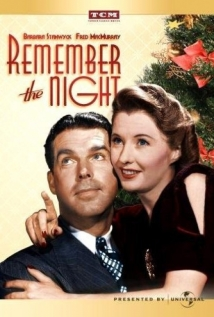 Remember the Night film afişi