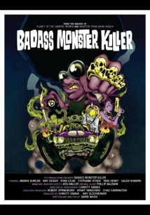 Badass Monster Killer film afişi