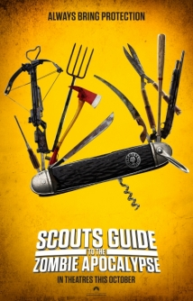 """midnight Screenings"" Scouts Guide To The Zombie Apocalypse film afişi"