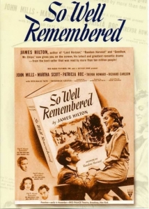 So Well Remembered film afişi