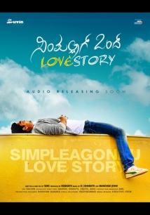 Simple Agi Ondh Love Story film afişi