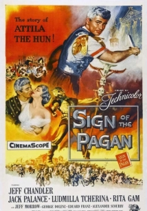 Sign Of The Pagan film afişi