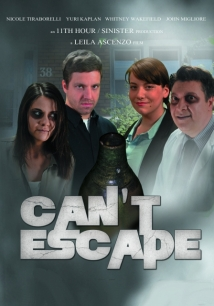 Can't Escape film afişi