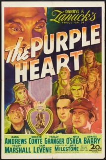 The Purple Heart film afişi