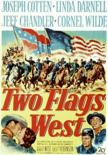 Two Flags West film afişi