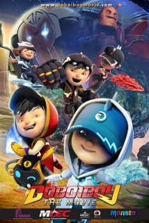 Boboiboy: The Movie film afişi