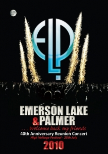 Emerson Lake & Palmer: 40th Anniversary Reunion Concert film afişi