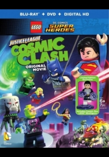 Lego Dc Comics Super Heroes: Justice League - Cosmic Clash film afişi