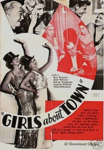 Girls About Town film afişi